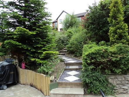 pin escaliers de jardin on pinterest. Black Bedroom Furniture Sets. Home Design Ideas