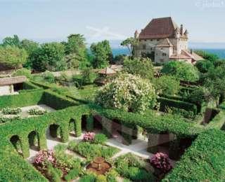 Le labyrinthe, «jardin des 5 sens»