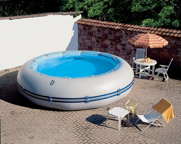 Piscine gonflable chauff e for Piscines gonflables