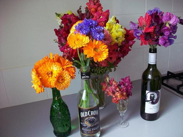 fleurs-dans-bouteilles