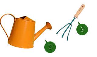 Les bons outils du jardinier