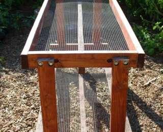 Construire une table pour votre potager
