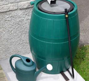 Récupérer de l'eau de pluie