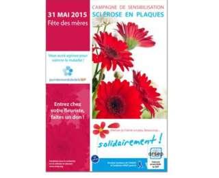 La fondation ARSEP chez votre fleuriste pour la fête des mères