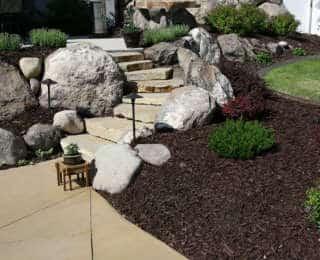 Installez des rochers