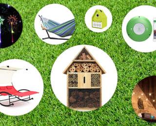 8 accessoires déco sympas pour le jardin et ses amis