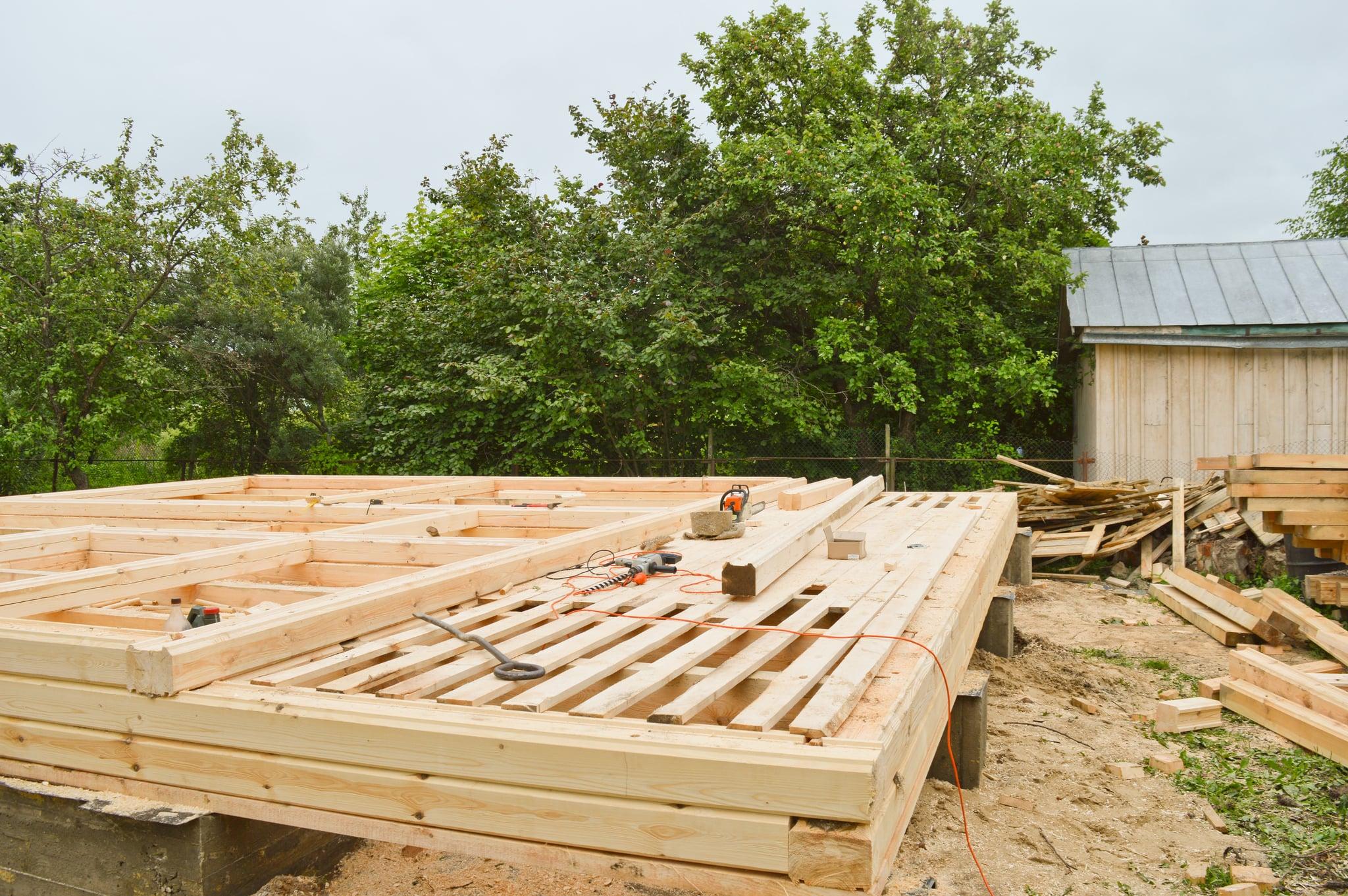 Construire Terrasse En Bois poser une terrasse en bois