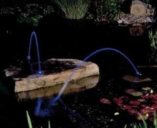 Water jet lightning : un bassin bien allumé